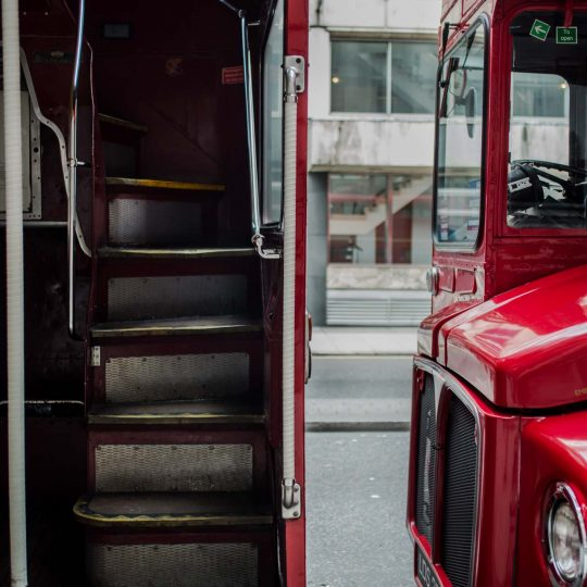 bus, red bus, london bus