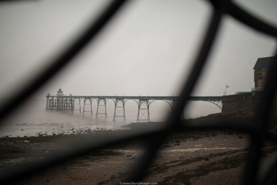 holidays in Wales, Pier in Clevedon