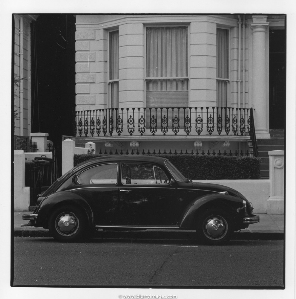 black bettle, black car, old vw bettle, vw bettle london