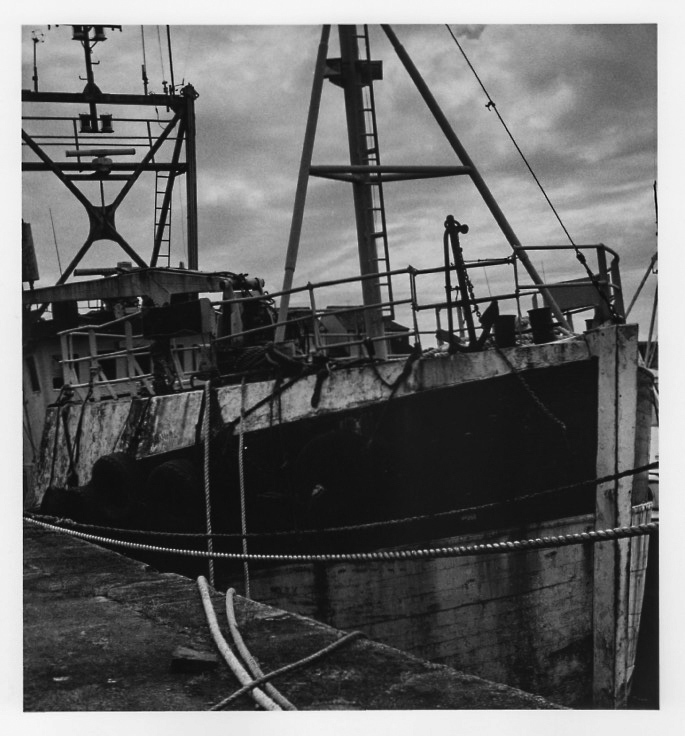 Old boat in Maryport; wooden boat; old ship; Kodak try-x 400; fine art print; darkroom print, new prints